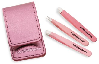 Tweezerman 3-Piece Micro-Mini Tweezer Set