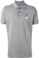 Lanvin arrow patch polo shirt