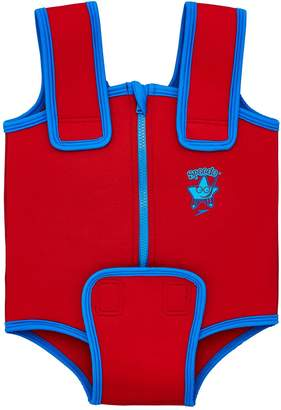 Speedo Seasquad Neoprene Baby Suit - Red/Blue