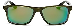 Maui Jim Unisex Onshore Polarized Rectangular Sunglasses, 58mm