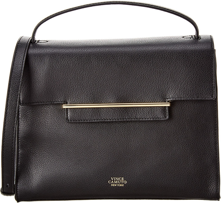 Vince Camuto Aster Leather Satchel