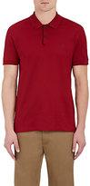 Massimo Alba Men's Embroidered Cotton Piqué Polo Shirt-RED