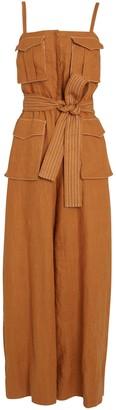 Shona Joy Eames Linen Utility Jumpsuit