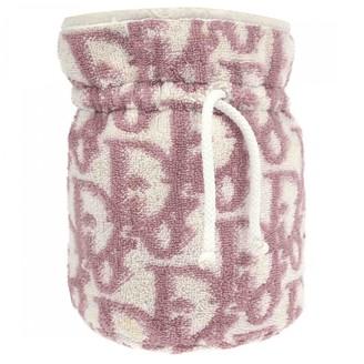 Christian Dior Pink Cloth Clutch bags