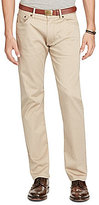 Polo Ralph Lauren Hampton Stretch Sateen Flat-Front Straight-Fit Pants