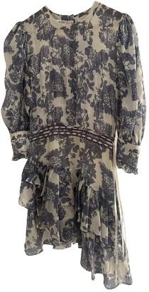 LoveShackFancy Blue Silk Dress for Women