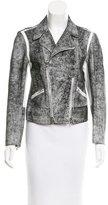 3.1 Phillip Lim Distressed Leather Jacket