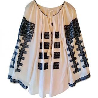 Talitha Collection Ecru Cotton Top for Women