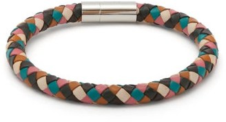 Paul Smith Woven Leather Bracelet - Mens - Multi