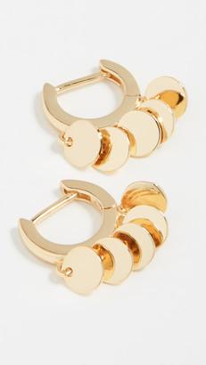 Jules Smith Designs Disc Huggy Earrings