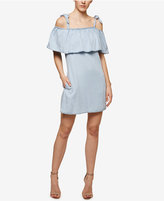 Sanctuary Sigrid Denim Cold-Shoulder Dress