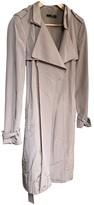 BOSS Beige Cotton Coat for Women