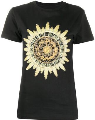 Paco Rabanne horoscope print T-shirt