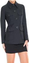 Max Studio Bonded Jersey Jacket
