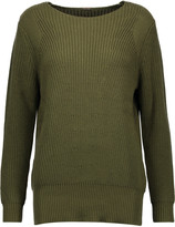 ADAM by Adam Lippes Ribbed cotton, cashmere and silk-blend sweater