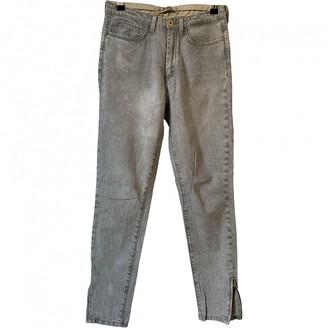 Twenty8Twelve By S.Miller By S.miller Grey Cotton Jeans for Women
