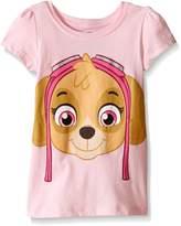 Paw Patrol Toddler Girls Skye Short Sleeve Costume Tee