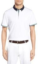 AG Jeans Men's The Deuce Colorblock Pique Polo