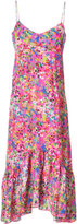 Saloni floral midi dress - women - Silk/Polyester - 12