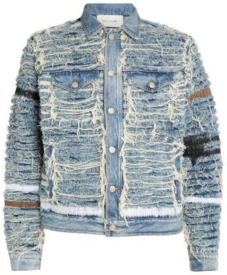 Alyx X Blackmeans Shredded Denim Jacket