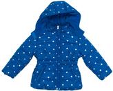 Pink Platinum Royal Blue Foil Star Puffer Jacket - Infant Toddler & Girls