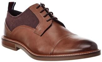 Ben Sherman Brent Cap Toe Leather Oxford