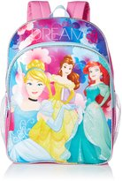 Disney Little Girls Princess Dare To Dream 16 Inch Backpack