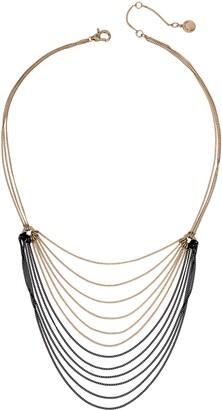 AllSaints Layered Bib Necklace