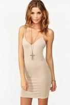 Nasty Gal Essential Slip Dress - Nude