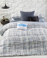 Calvin Klein City Plaid King Duvet Cover Set Bedding
