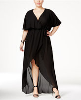 Melissa McCarthy Trendy Plus Size High-Low Maxi Dress