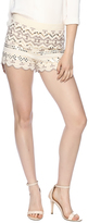 Endless Rose Embroidered Scalloped Shorts
