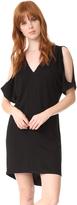 Lanston Cold Shoulder Caftan Dress