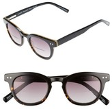 Eyebobs Men's Laid 46Mm Reading Sunglasses - Tortoise With Black
