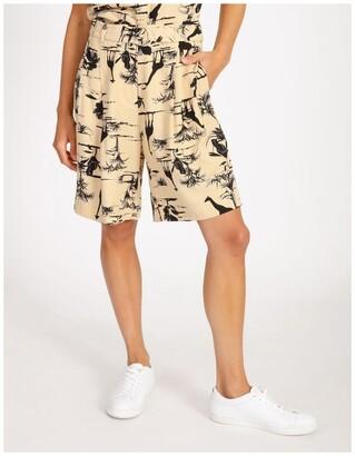 Hi There From Karen Walker Safari Belted Shorts Lt