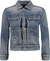 R 13 Shrunken Trucker denim jacket