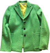 Ballantyne Green Wool Jacket for Women