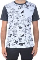 Carven Tattoo Printed T-shirt