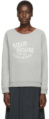 MAISON KITSUNÉ Grey Palais Royal Sweatshirt