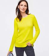 LOFT Petite Round Neck Sweater