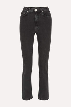 Totême Standard High-rise Straight-leg Jeans - Gray