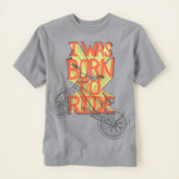 Children's Place Born to ride graphic tee