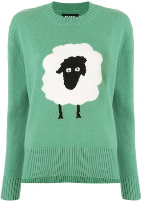 Markus Lupfer Intarsia Sheep Jumper