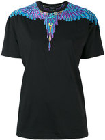 Marcelo Burlon County of Milan printed T-shirt - women - Cotton/Polyester/Viscose - S