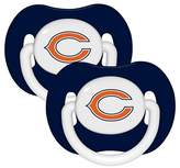 Baby Fanatic Chicago Bears Pacifiers - 2 Pack