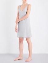 Skin Marl-effect pima cotton chemise