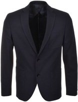 HUGO BOSS Black Raye5 Blazer Jacket Navy