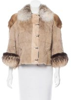Lanvin Mink & Fox-Blend Fur Jacket w/ Tags