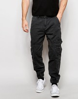 True Religion Slim Tapered Cargo Trousers With Pocket Detailing
