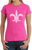 LOS ANGELES POP ART Los Angeles Pop Art Fleur De Lis - Popular Louisiana Cities Graphic T-Shirt